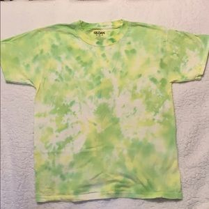 Homemade tie dye shirt